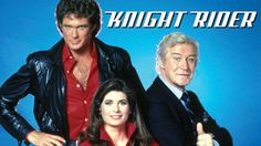 David Hasselhoff as Michael Knight (left), Patricia McPherson as Dr. Bonnie Barstow (Seasons (middle), Edward Mulhare as Devon Miles (right) Christopher Reeve, Christopher Eccleston, Universal Studios, Patricia Mcpherson, Radios, Doctor Who, Kitt Knight Rider, K 2000, Old Time Radio