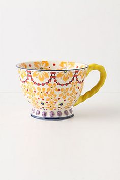 With a Twist Teacup - Anthropologie - $12.