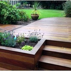 Why not add a built in herb garden with your new decking?