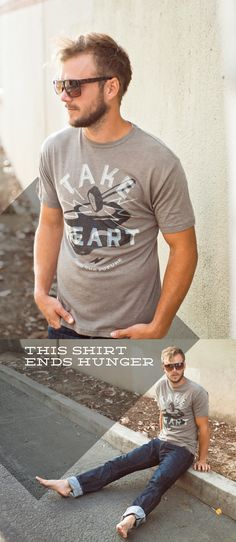 As a parent, there is nothing more devastating than watching your child starve to death. Your shirt purchase this week (click on the picture) will help provide sustainable food supplies to desperate families in Kenya. The solution to starvation is here -> www.sevenly.org/BrandonL