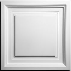 Westminster coffered ceiling tiles, in Ceilume's versatile feather-light material, are easy on your eyes and on your budget. The most economical coffered ceiling tile anywhere, Westminster ceiling tiles Drop Ceiling Tiles, Ceiling Grid, Dropped Ceiling, Ceiling Panels, White Ceiling, Ceiling Lights, Ceiling Ideas, Hallway Ceiling, Ceiling Decor
