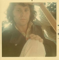 Rare Polaroid photographs of The Doors performing at Fantasy Fair and Magic Mountain Music Festival in 1967.