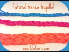 Tutorial #7: Trenza multiusos de trapillo - YouTube