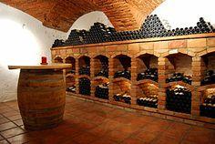 über 300 Jahre alter Gewölbekeller Wine Cellar, Alter, House, Riddling Rack, Home, Homes, Wine Cellar Basement, Houses