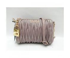 3beb51df7b4b Miu Miu Coffer Shoulder Bag Gray Miu Miu bags