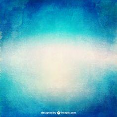 Aquarell Farbverlauf Textur in Blautönen
