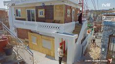 Gil Ra-im's & Sunny's House – Korean Dramaland Secret Garden Kdrama, Korean Apartment, Rooftop, Sunnies, The Neighbourhood, This Is Us, Exterior, House Design, Building
