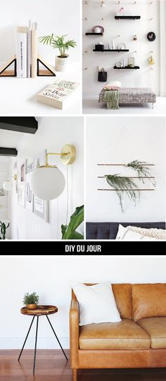DIY du Jour: Minimally Modern | Francois et Moi