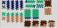Minecraft TNT perler, 3D perler beads, 3D TNT pattern | Let's party ...