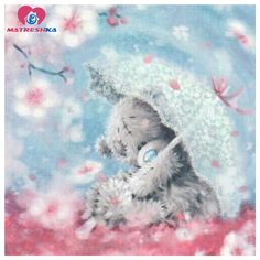 Tatty Teddy with Umbrella Tatty Teddy, Cute Images, Cute Pictures, Bing Images, Fizzy Moon, Teddy Bear Pictures, Blue Nose Friends, Bear Card, Mosaic Diy