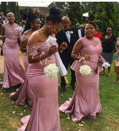 Lace Bridesmaids, Bridesmaid Dresses, Prom Dresses, Wedding Dresses, Wedding Stuff, Dream Wedding, African Wedding Dress, Weeding, Pink Fashion