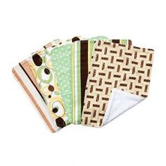 Burp Cloth Set 5 Pack
