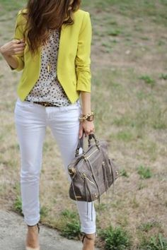mellow yellow and white