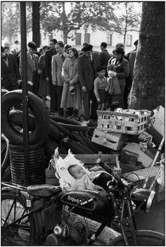 Paris. 1952-1953. Flea market. Porte DE SAINT OUEN