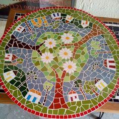 """Résultat de recherche d'images pour """"mesas con mosaicos"""""""
