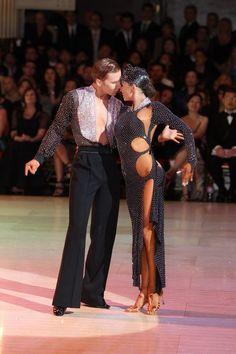 Neil Jones & Ekaterina Sokolova - Blackpool Dance Festival 2011 - Vesa Designs