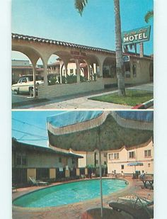 Unused Pre 1980 Old Cars by The Sea Motel Laguna Beach California CA S5480 | eBay