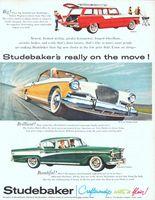 Studebaker Pelham Station Wagon 1956 Ad Picture