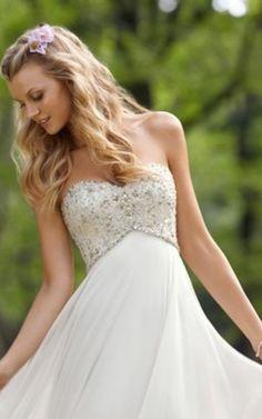 Robe de Mariée Romantique Avec Sans Manches en Satin Extensible de Traîne Moyenne