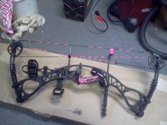 Hoyt vixen bow! My new bow
