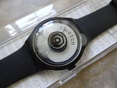 SWATCH EX-LARGE    RAMPED   44MM HARD TO FIND MINT NEW IN BOX