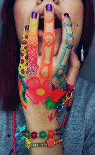 70 best painted hands planet earth images on pinterest