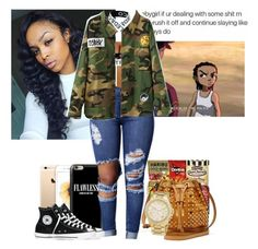 """""""Untitled #339"""" by yabishtea ❤ liked on Polyvore featuring Casetify, Escalier, Converse, MCM and Michael Kors"""