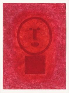 Red Face by Rufino Tamayo - Mexico