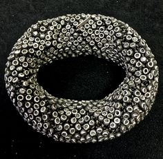 Amazing Tone' Vigeland soft silver bangle