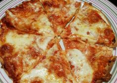 (50) Double Πίτσα με τορτίγιες και φιλαδέλφεια έτοιμη σε 10 λεπτα! συνταγή από Vicky Cvr - Cookpad Pizza, Cheese, Food, Essen, Meals, Yemek, Eten