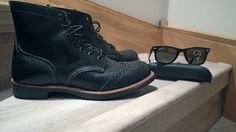 My new brogue iron rangers and 2140 wwayfarers