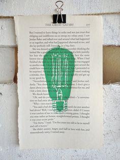 Green Light Great Gatsby Drawing