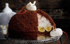 Разнообразные торты «Норка крота» с творожным суфле или кремами. Оригинальный банановый торт - «Норка крота» - http://vipmodnica.ru/raznoobraznye-torty-norka-krota-s-tvorozhnym-sufle-ili-kremami-originalnyj-bananovyj-tort-norka-krota/