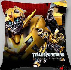 Transformers Autobots Bumblebee throw pillow