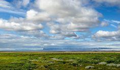 Un universo paralelo. Esfera: De azules y verdes. Islandia
