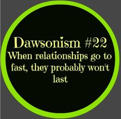 Dawsonism #22