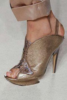 Haute couture shoes