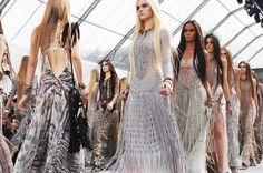 Roberto Cavalli....officially my favorite designer. I want a reason to wear a fringe dress!