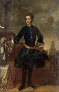 KARL-FRIEDRICH I of Denmark, Duke of Schleswig-Holstein-Gottorp (1700 - 1739). He was the son of the duke Friedrich IV and the princess Hedvig Sophia of Sweden, and husband of the Grand Duchess Anna Petrovna of Russia. He was the father of the Tsar Peter III of Russia.