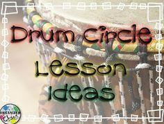 Great lesson ideas on Drumming!  Organized Chaos: Teacher Tuesday: drum circle lesson ideas