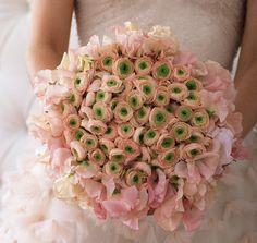 belle fleur - ranunculus and sweet pea