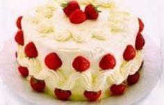 Risultati immagini per torta fragole
