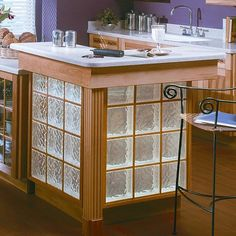 glase blocks kitchen cabinets | Door & Window Transoms and Sidelights
