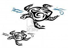 Mermaid Tattoo Design In Tribal Style | Fresh 2016 Tattoos Ideas