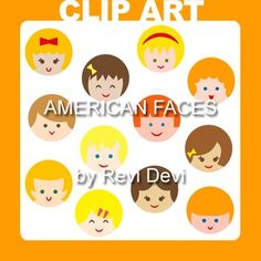 """Cute boys and girls faces graphics in circles. You will get 12 cliparts.Image Size:Each approx. 5 X 5"""" (300 dpi).These clip arts are very useful for teachers and educators for creating their school and classroom projects such as for bulletin board, printable, worksheet, classroom decor, craft materials, activities and games, and for more projects.You will receive:- Each clipart saved separately in PNG format, 300 dpi with transparent background.- Each clipart saved separately in JPG format…"""