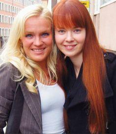 Jonna Geagea & Johanna Kurkela(2009)Photo courtesy of Anita Andersson