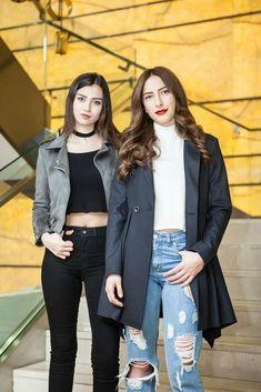 My lovely ❤❤❤ Turkish Beauty, Turkish Fashion, Friend Poses, Turkish Actors, Dakota Johnson, Medium Hair Styles, Bomber Jacket, Hair Beauty, Hipster