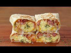 쉬운재료로 에그 부리또 만들기 :: 계란요리 :: Egg Burrito :: Breakfast Recipe - YouTube Easy Japanese Recipes, Asian Recipes, Mexican Food Recipes, Breakfast Dishes, Breakfast Recipes, Easy Cooking, Cooking Recipes, My Favorite Food, Healthy Cooking Recipes