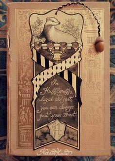 Harry Potter Hufflepuff bookmark di NatasaIlincic su Etsy