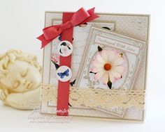 Inspired by Stamping Vintage Paper and Printables and Garden Seed Packets Stamp Set and Card